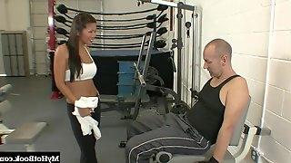 Beti Hana makes a man happy with her amazing randy body