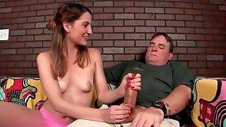 Daddy jerked off