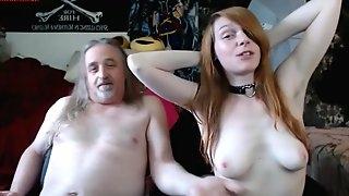 Old Man Fucks Teenager Little Emo Girl - 18yo porn clip
