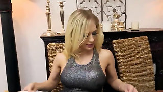 Cute girl throating hard-on Gets A Cumshot