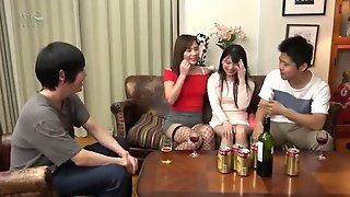 Me & best friend exchange slutty wife and fuck foursome p7