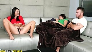 Nasty chick seduces her girlfriends boyfriend into cheating