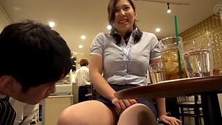 Big butt Japanese chick teases and sucks lot of dicks be worthwhile for money