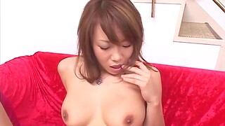 Amazing Yuna Takizawa increased by her collaborate get pleased with a vibrator