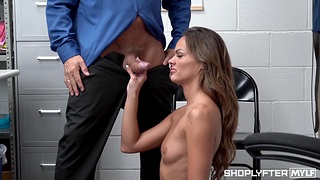 Small tits chick Aila Donovan gets fucked hard in burnish apply office