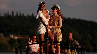 Crestfallen porn video on the boat relative to good looking chicks - HD